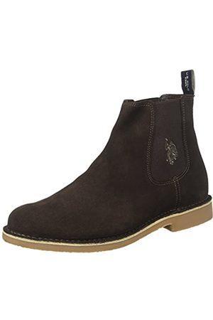 U.S. Polo Assn. Herren Faust5 Chelsea Boots, (Dark Brown DKBR)