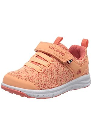 Viking Unisex-Kinder Veil Sneaker, (Coral/Antiquerose 5153)