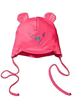 Sterntaler Schirmmütze für Mädchen mit Bindebändern, Nackenschutz und niedlichem Bärchen-Motiv, Alter: 4-5 Monate, Größe: 41