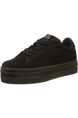 victoria Damen Deport Serraje Monocolor Sneaker, (Negro 10)