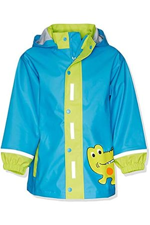 Playshoes Jungen Kurzmantel, Tierdruck Regen-Mantel Krokodil 408582