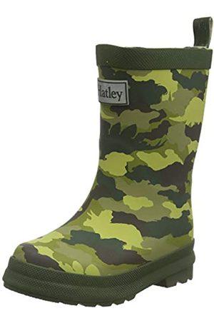 Hatley Jungen Printed Wellington Rain Boots Gummistiefel, (Dino Camo 300)