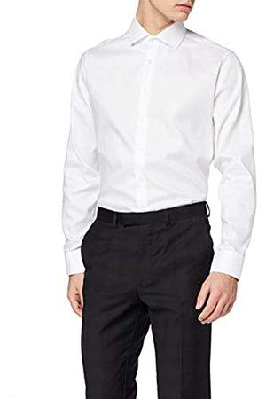 Seidensticker Herren Business Hemd Shaped Fit – Bügelleichtes Businesshemd ( 01)