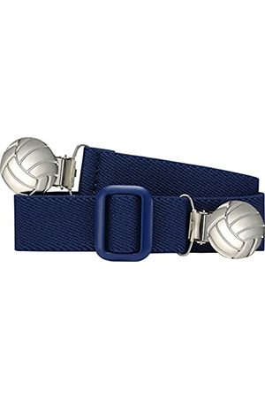 Playshoes Unisex - Kinder Gürtel 601210 Elastischer Kindergürtel mit Fußball Clips, passend bei Größe 74-110