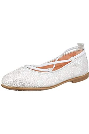 unisa Mädchen SEIMY_20_GL_N Geschlossene Ballerinas, (White White)