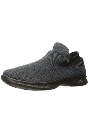 Skechers Damen Go Step Lite - Ultrasock Hohe Sneaker, (Black)