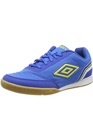 Umbro Herren Futsal Street V Futsalschuhe, (Electric Blue/Blazing Yellow/Tw Royal/White FNU)