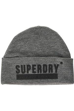 Superdry Herren Surplus Silicone Beanie Strickmütze