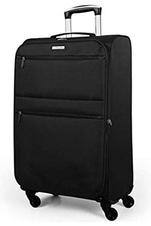 ITACA Mittlerer Reisekoffer 67cm Eva-Polyester. Weich, robust und leicht. Erweiterbar. Gute Qualität und Schönes Design. 71160