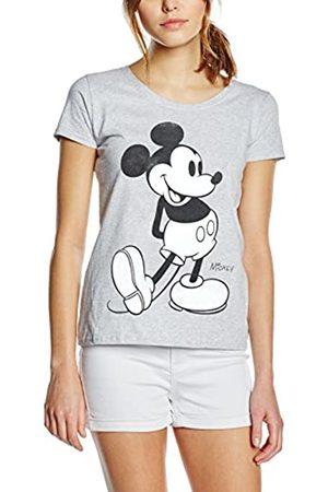 Disney Damen Mickey Mouse Classic Kick B&W T-Shirt
