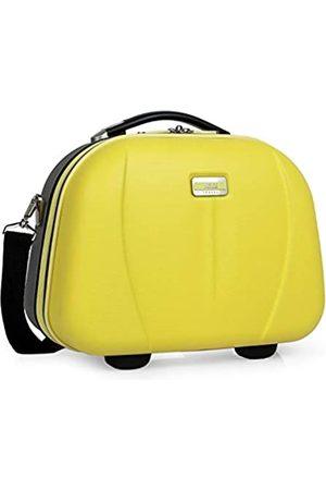 JASLEN Starre Tasche Große Reisetasche, Toilette ABS. Reißverschluss schließen. Gurt befestigt zu Wagen. Mehrfach zu behandeln und ausziehbare Fächer. Spiegel. 56525