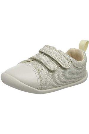 Clarks Mädchen Roamer Craft T Sneaker, (Silver Silver)