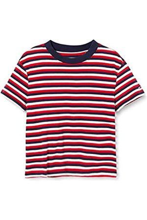 Tommy Hilfiger Damen Tjw Contrast Rib Baby Tee Sport Pullover