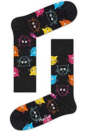 Happy Socks Damen Freizeitsocken Cat Sock