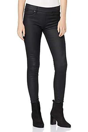 True Religion Damen Jegging Fake Leather Skinny Jeans