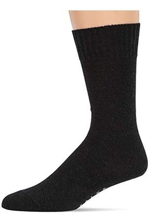 Falke Herren Socken Denim.ID - Merinowoll-/Baumwollgemisch, 1 Paar, Grau (Anthracite Melange 3081)
