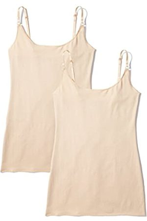 IRIS & LILLY Amazon-Marke: Damen Unterhemd, 2er Pack