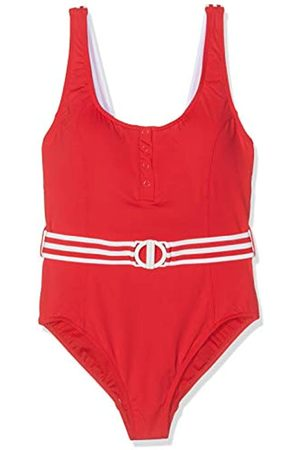 Seafolly Damen Tank Malliot Badeanzug Chilli)