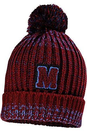 maximo Jungen mit Umschlag und Label M und Pompon Mütze
