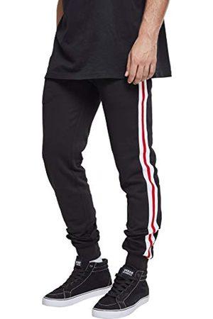 Urban classics Herren 3-Tone Side Stripe Terry Pants Sporthose