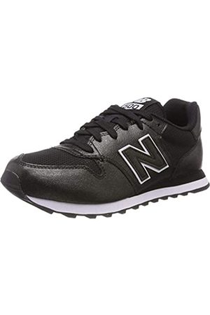 New Balance Damen 500 Sneaker, (Black/Black Metallic Mbb)