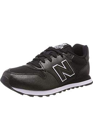 New Balance Damen 500 Sneaker, (Black/Black Metallic Mbb)