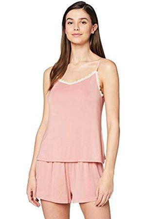 IRIS & LILLY Amazon-Marke: Damen Pyjama-Set aus Modal, M