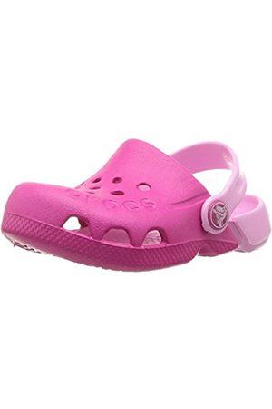 Crocs Unisex-Kinder Electro Clogs, Pink (Candy Pink/Carnation)