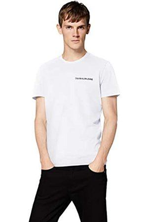 Calvin Klein Herren Chest Institutional Slim Ss Tee T-Shirt