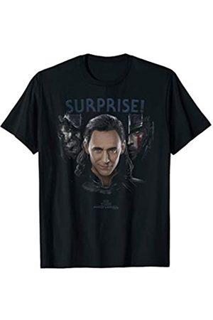 Marvel Thor Ragnarok Loki Surprise Shadows Graphic T-Shirt