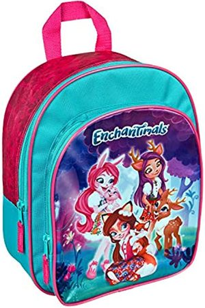 UNDERCOVER ENCH7601 - Enchantimals Rucksack mit Vortasche, und gepolsterten Schultergurten
