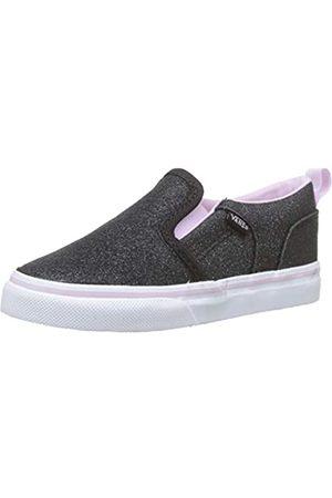 Vans Unisex Baby Asher V Sneaker, ((Glitter) Lilac Snow V2r)