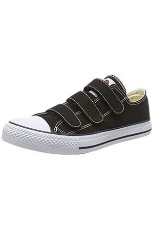 victoria Unisex-Erwachsene Tribu Velcros Lona Sneaker, (Negro 10)