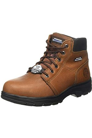 Skechers Men's Workshire Classic Boots, Brown (Brown Embossed Leather BRN)