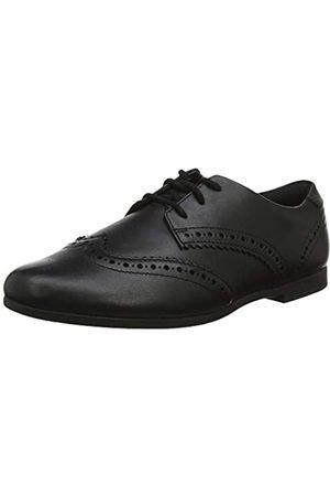 Clarks Mädchen Scala Lace Y Derbys, (Black Leather)