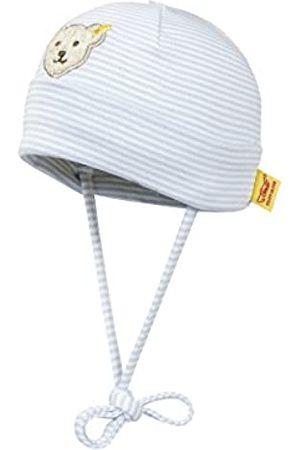 Steiff Unisex - Baby Mütze 0006610 Mütze Gr. 43 Cm Kopfumfang, Gestreift