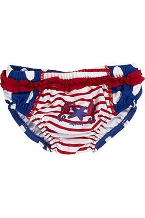 Playshoes Baby - Mädchen Schwimmwindel Badewindel Badehose Seepferdchen UV - Schutz nach Standard 801