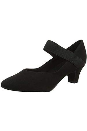 So Danca Damen Bl184 Standard- & Latintanzschuhe, (Black Black)
