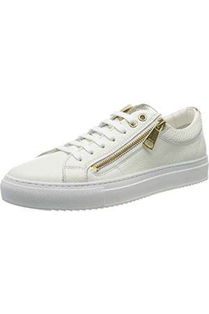 HUGO BOSS Damen Hoxton Low Cut-MGR 10195704 01 Sneaker, (White 100)