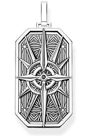 Thomas Sabo Unisex-Anhänger Kompass Stern 925 Sterlingsilber PE868-643-11