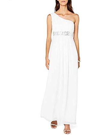 Astrapahl Damen Kleid One Shoulder mit Pailletten, Maxi, Einfarbig, Gr. 34