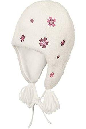 Sterntaler Inka-Mütze für Mädchen mit Bommel und Bindebändern, Alter: ab 5-6 Monate, Größe: 43