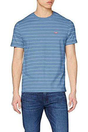 Levi's Herren The Original T-Shirt, Mehrfarbig (Hm Patch Og Tee Riverside/White + 0014)