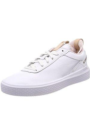 K-Swiss Damen Dani Sneaker, (White/Mauve Chalk)