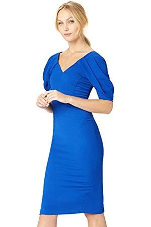 TRUTH & FABLE Amazon-Marke: Damen Kleid mit Puffärmeln, 42