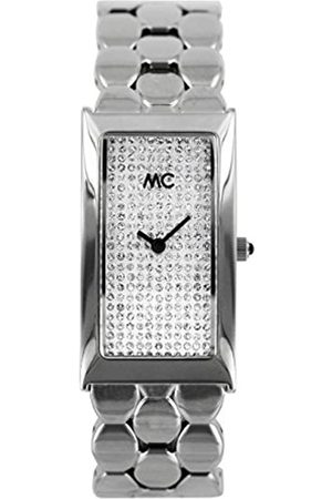 MC MCTimetrendDamenAnalogQuarzUhrmitMessingArmband51401
