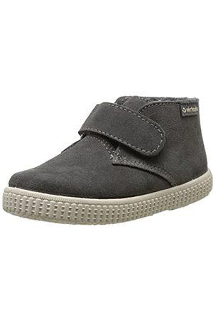 victoria Unisex-Kinder Safari Serraje Velcro Stiefel, (Gris (Pizarra)