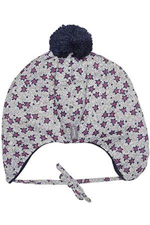 Sterntaler Inka-Mütze mit Bommel, Ohrenklappen und Bindebändern, Alter: ab 9-12 Monate, Größe: 47