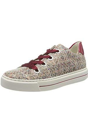 ARA Damen COURTYARD Sneaker, Mehrfarbig (Multi, Rosso 15)