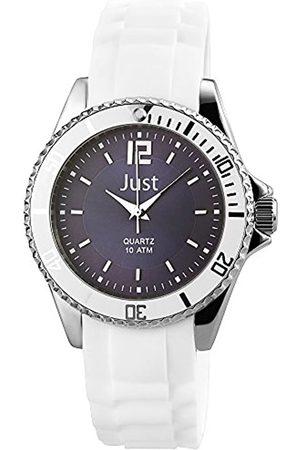 Just Watches Damen Analog Quarz Uhr mit Kautschuk Armband 48-S3863-DBL